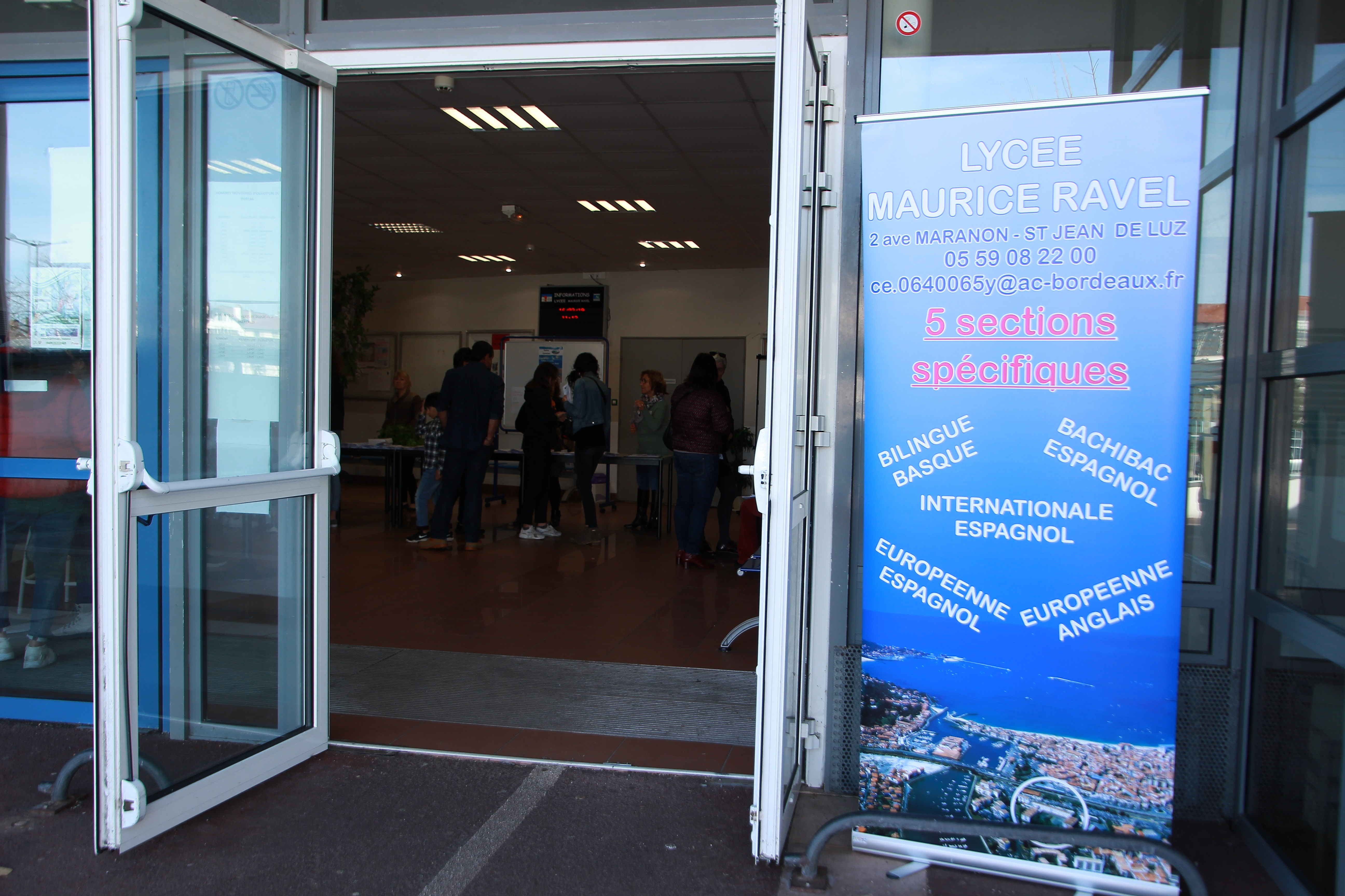 Le Lycee Cite Scolaire Maurice Ravel