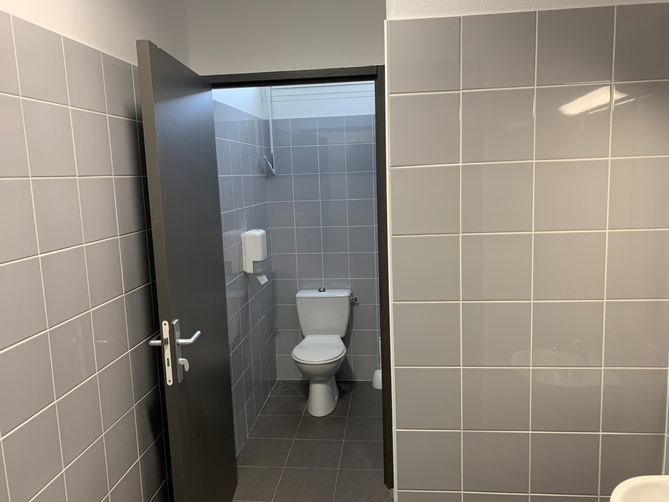 Toilettes à l'internat