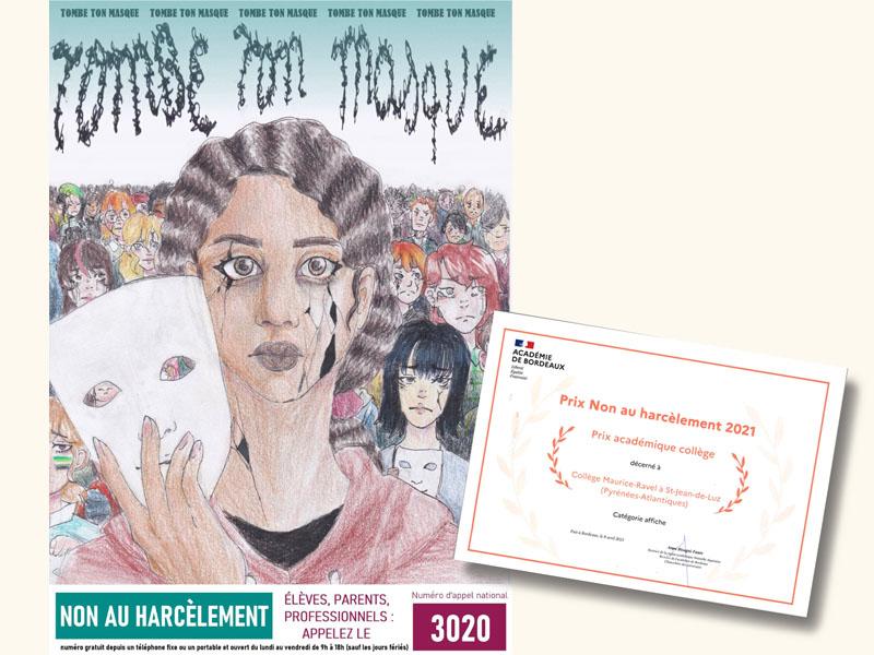 Prix académique «Non au Harcèlement»