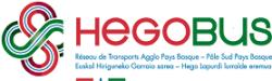 Les inscriptions transport scolaire : HEGOBUS