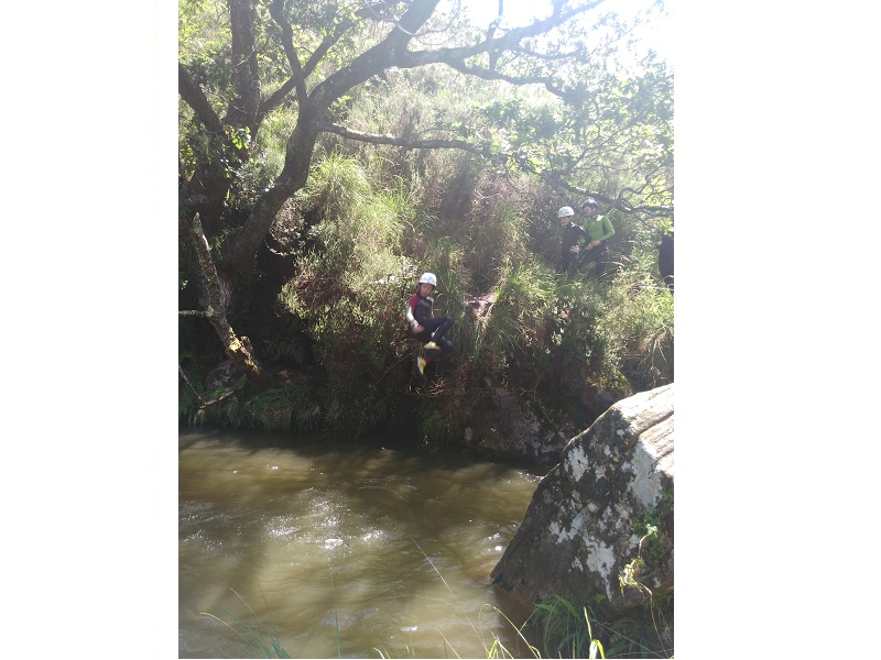 UNSS Collège : Canyoning