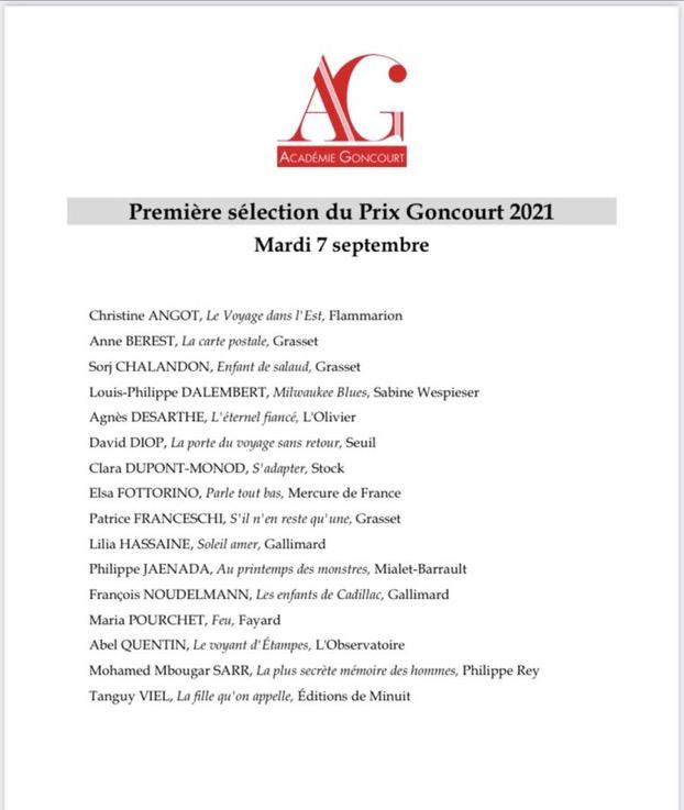 Les lycéens participent au prix Goncourt lycéen