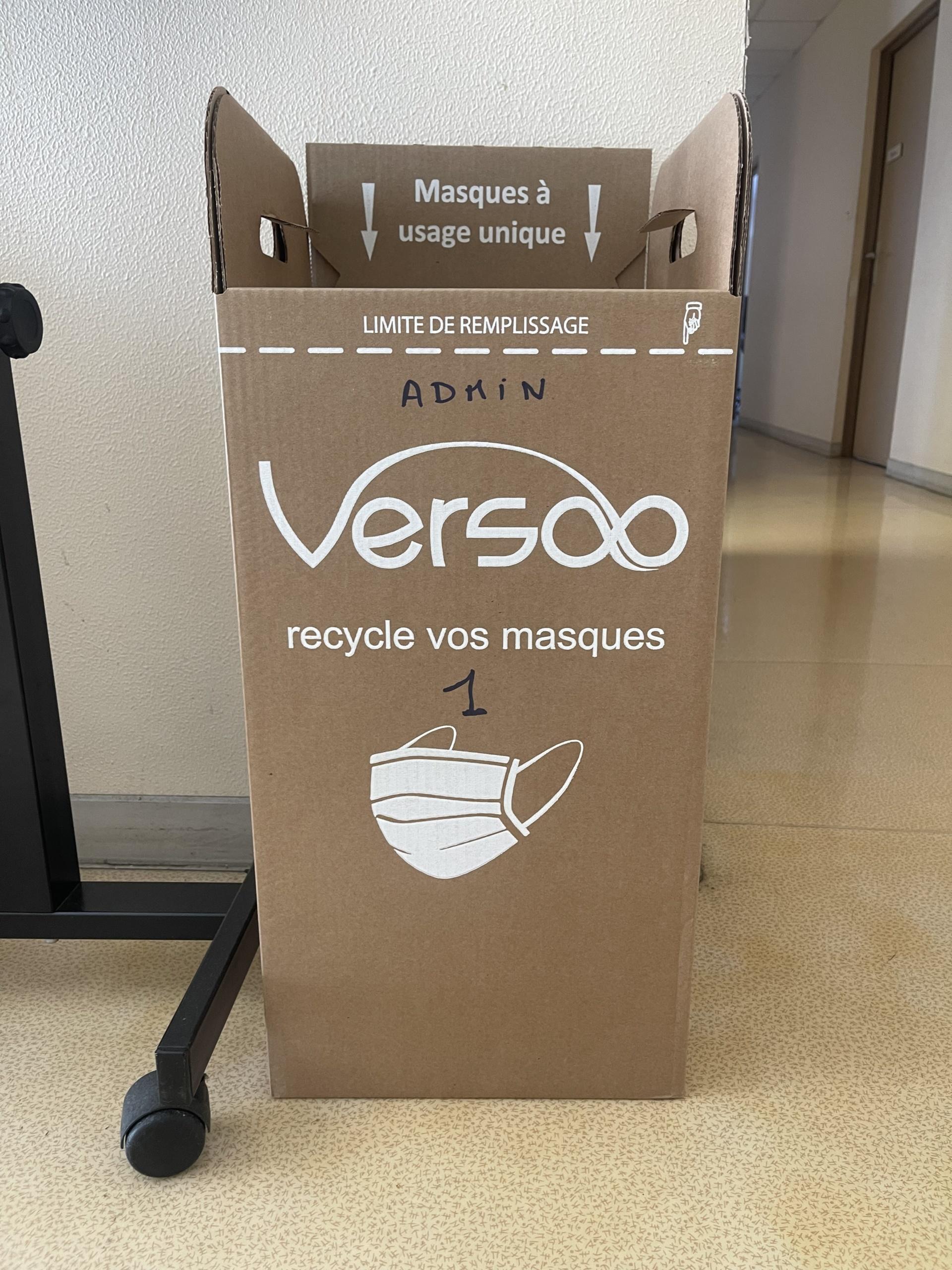 Le masque à usage unique se recycle à Ravel !